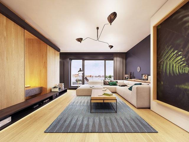 Chiêm ngưỡng căn hộ thiết kế ngẫu hứng đẹp cuốn hút - Ảnh 1.