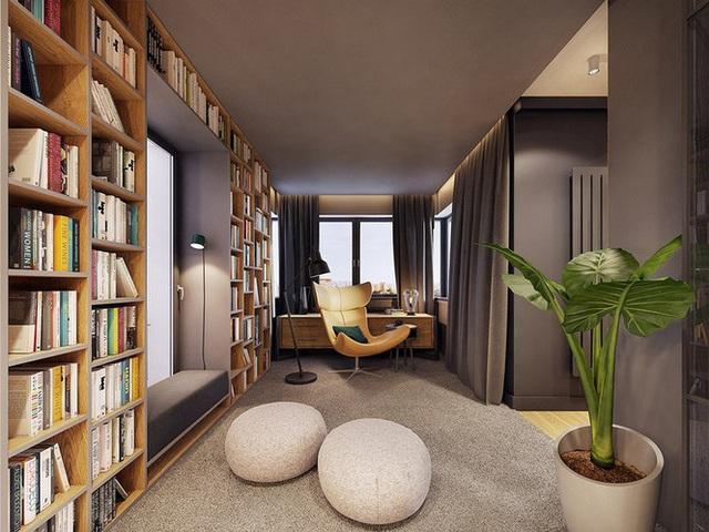 Chiêm ngưỡng căn hộ thiết kế ngẫu hứng đẹp cuốn hút - Ảnh 3.