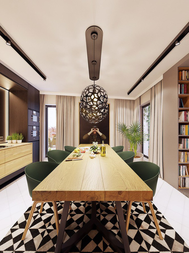 Chiêm ngưỡng căn hộ thiết kế ngẫu hứng đẹp cuốn hút - Ảnh 6.