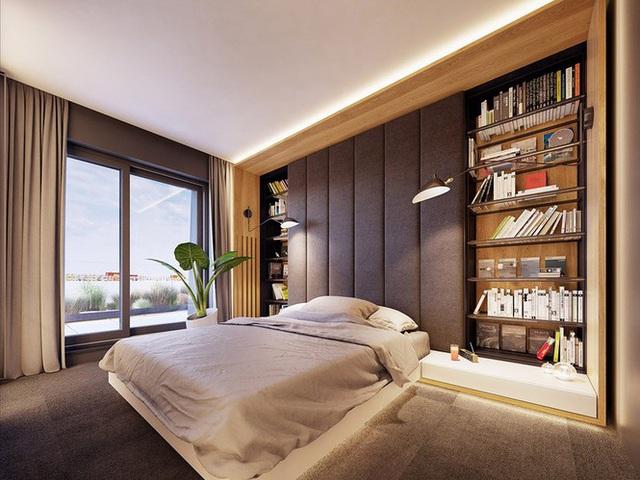 Chiêm ngưỡng căn hộ thiết kế ngẫu hứng đẹp cuốn hút - Ảnh 7.