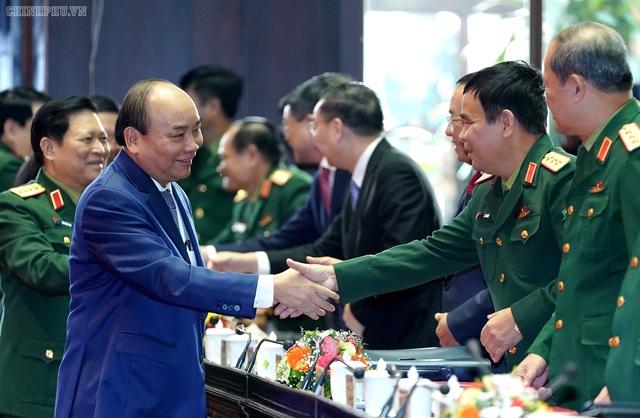 CHÙM ẢNH: Thủ tướng dự Hội nghị Quân chính toàn quân - Ảnh 4.