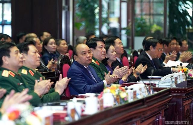 CHÙM ẢNH: Thủ tướng dự Hội nghị Quân chính toàn quân - Ảnh 5.