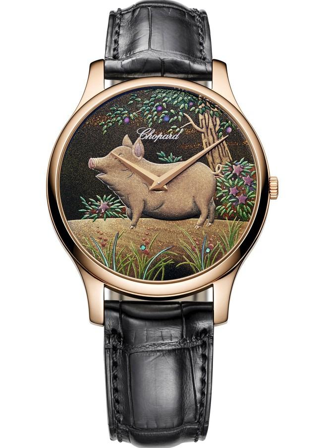 7 mẫu đồng hồ bạc tỷ chào đón năm Kỷ Hợi dành cho giới thượng lưu - Ảnh 7.