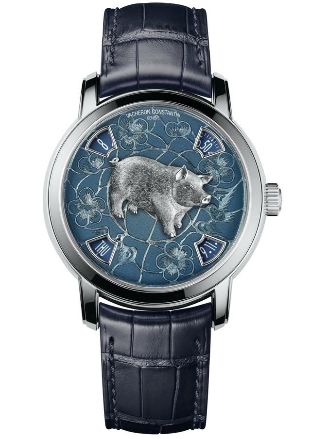 7 mẫu đồng hồ bạc tỷ chào đón năm Kỷ Hợi dành cho giới thượng lưu - Ảnh 1.