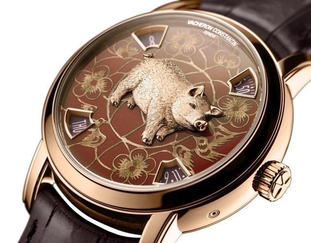 7 mẫu đồng hồ bạc tỷ chào đón năm Kỷ Hợi dành cho giới thượng lưu - Ảnh 2.