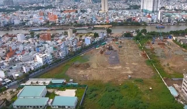 Xem xét cho phép dự án khu đất 76 Tôn Thất Thuyết, Q.4 khởi động trở lại