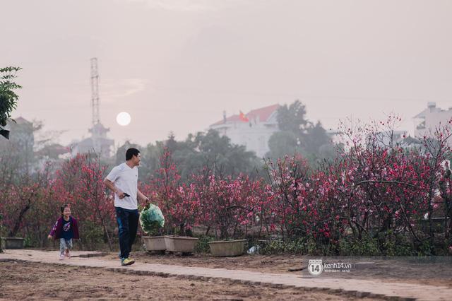 Chùm ảnh: Hà Nội 27 Tết đẹp dịu dàng, mộc mạc và ấp áp trong nắng Xuân sớm - Ảnh 12.