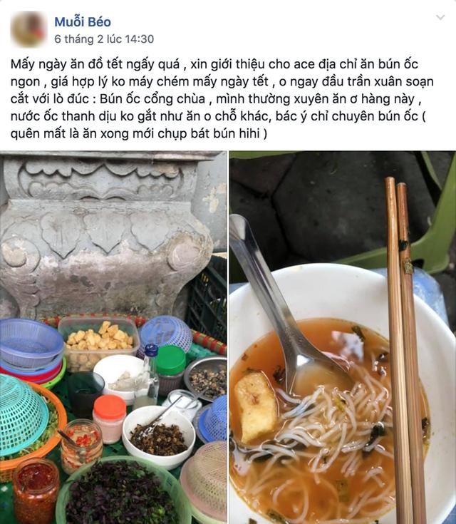 Người Hà Nội, cứ đến Tết là thi nhau đi ăn bún riêu, bún ốc - Ảnh 4.