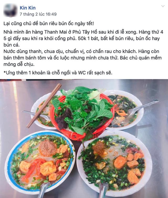 Người Hà Nội, cứ đến Tết là thi nhau đi ăn bún riêu, bún ốc - Ảnh 5.