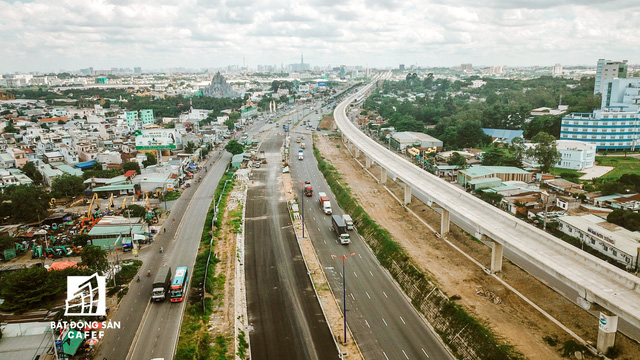 Cận cảnh những dự án giao thông đang làm thay đổi thị trường bất động sản TP.HCM - Ảnh 1.