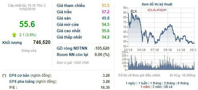 Điều kiện thị trường không phù hợp, Petrolimex chưa bán được cổ phiếu quỹ - Ảnh 1.