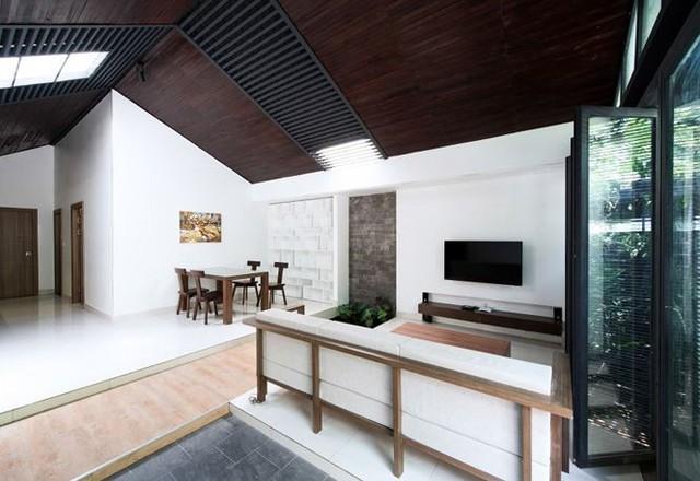 Làm nhà một tầng siêu đẹp với chi phí tiết kiệm chỉ 270 triệu đồng - Ảnh 2.