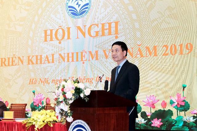 Bộ trưởng Nguyễn Mạnh Hùng: Năm 2019, phải thực hiện quy hoạch báo chí - Ảnh 1.