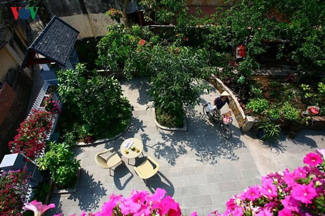 Nhà 3 tầng xinh xắn giữa ngôi làng cổ ở Hà Nội - Ảnh 12.