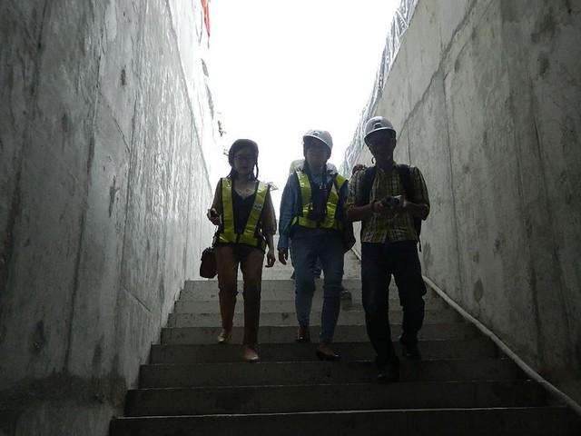Cận cảnh ga ngầm 4 tầng tuyến metro Bến Thành – Suối Tiên - Ảnh 2.
