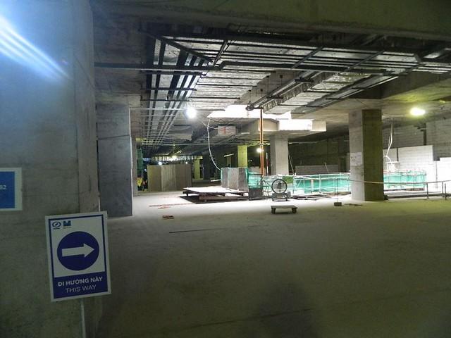 Cận cảnh ga ngầm 4 tầng tuyến metro Bến Thành – Suối Tiên - Ảnh 4.