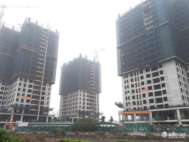 Hà Nội: Nhiều công trường dự án vẫn im lìm nghỉ Tết - Ảnh 1.