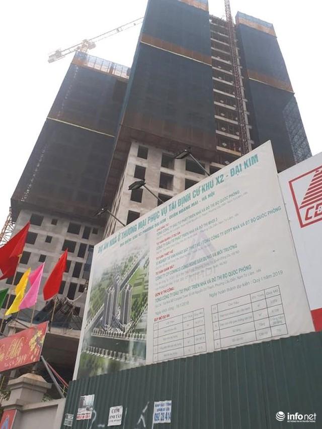 Hà Nội: Nhiều công trường dự án vẫn im lìm nghỉ Tết - Ảnh 2.