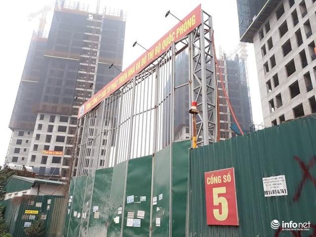 Hà Nội: Nhiều công trường dự án vẫn im lìm nghỉ Tết - Ảnh 3.