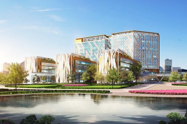 Thủ tướng nhấn nút khởi công Bệnh viện Đa khoa Quốc tế 1.000 giường tại Thái Bình - Ảnh 1.