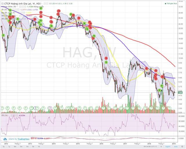[Thi viết TÔI MẤT TIỀN] Bài học bình quân giá xuống cổ phiếu HAG của tôi - Ảnh 1.