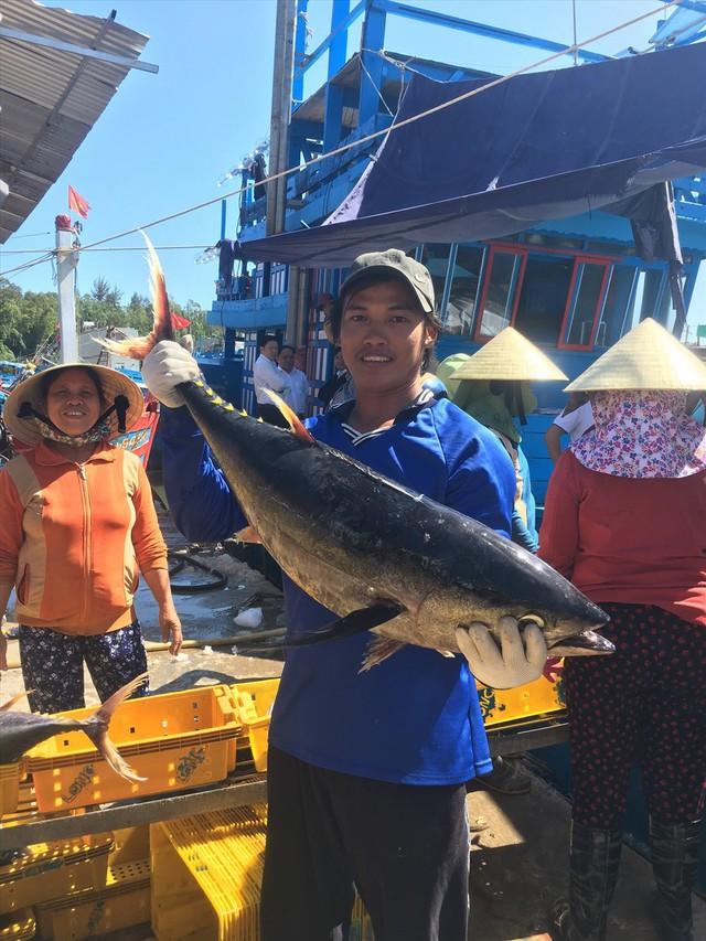 Tết trên biển và những mẻ cá trĩu nặng đầu năm - Ảnh 1.