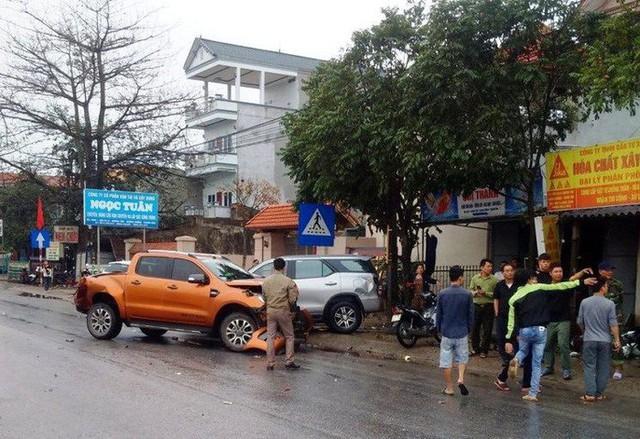 Xe container gây tai nạn liên hoàn nghiêm trọng, 8 người thương vong  - Ảnh 4.