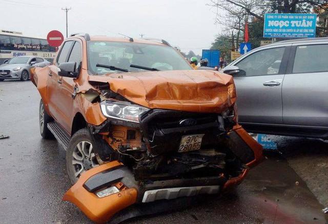 Xe container gây tai nạn liên hoàn nghiêm trọng, 8 người thương vong  - Ảnh 8.
