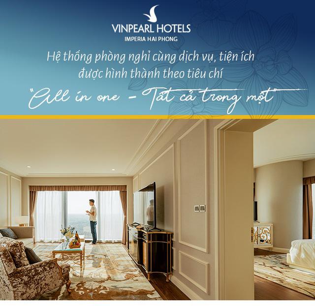 """Vinpearl Hotel Imperia Hải Phòng - Trải nghiệm thượng lưu tại """"ngọn hải đăng"""" mới của thành phố Cảng - Ảnh 8."""