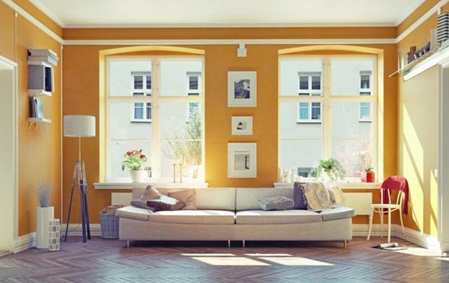 Mang mùa xuân vào nhà với các cách trang trí rực rỡ sắc màu - Ảnh 1.