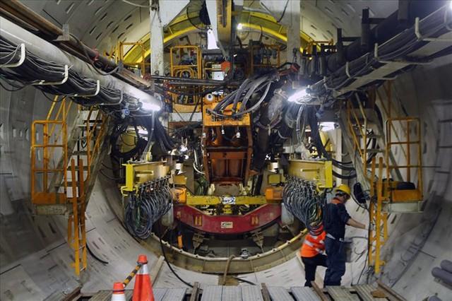 Robot đào hầm đường sắt Nhổn-Ga Hà Nội sẽ trình làng vào tháng 7-2019 - Ảnh 1.