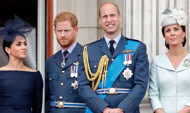 Hành động chia cắt công khai đầu tiên của hai cặp đôi Hoàng gia Anh sau nghi án mâu thuẫn, rạn nứt - Ảnh 1.