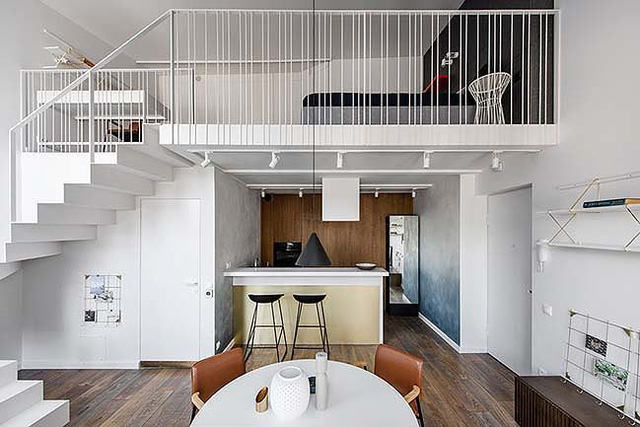 Nhà gác lửng, giải pháp cho đất hẹp và chi phí tiết kiệm - Ảnh 1.
