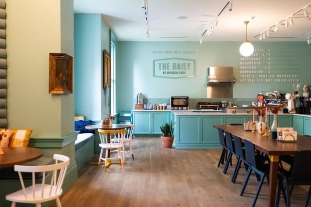 Ý tưởng thiết kế quán cà phê phong cách trẻ trung - Ảnh 1.