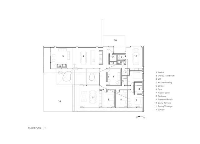 Ngôi nhà trên diện tích hơn 2.700 m2 có lưng dựa rừng thông cổ thụ, mặt hướng hồ - Ảnh 11.
