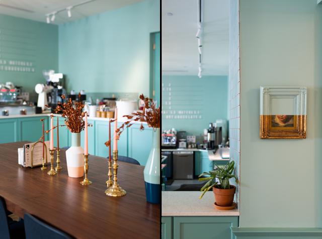 Ý tưởng thiết kế quán cà phê phong cách trẻ trung - Ảnh 3.