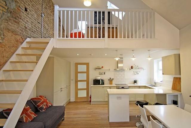 Nhà gác lửng, giải pháp cho đất hẹp và chi phí tiết kiệm - Ảnh 4.