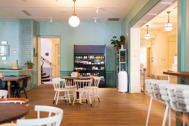Ý tưởng thiết kế quán cà phê phong cách trẻ trung - Ảnh 8.