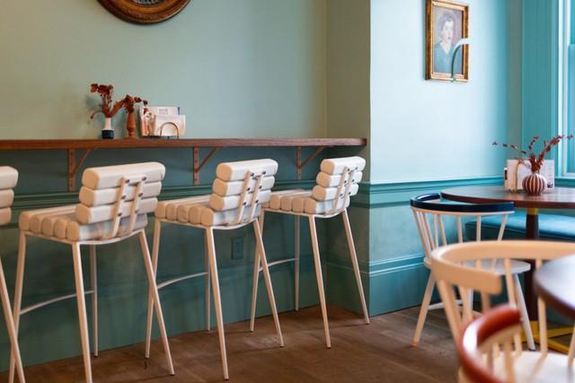Ý tưởng thiết kế quán cà phê phong cách trẻ trung - Ảnh 9.