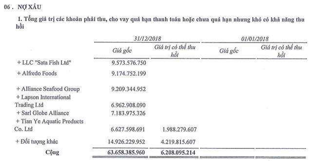 Sao Mai Group: Năm 2018 lãi 1.156 tỷ đồng cao gấp 7 lần 2017 nhưng hàng tồn kho và nợ phải trả cũng tăng chóng mặt - Ảnh 2.