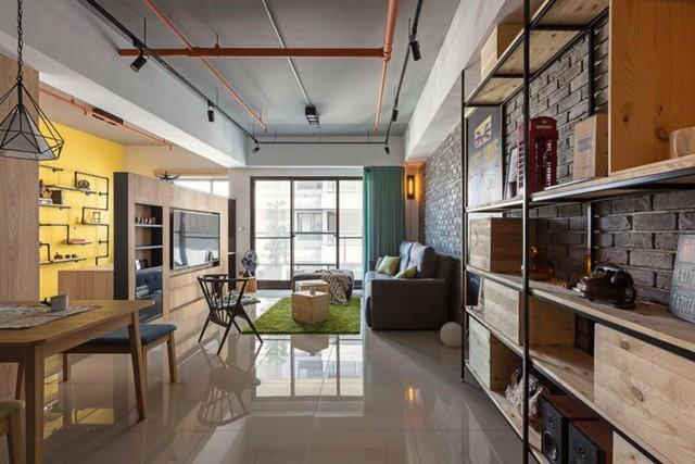 Căn hộ 100 m2 mang phong cách công nghiệp tươi sáng - Ảnh 5.
