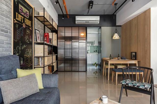 Căn hộ 100 m2 mang phong cách công nghiệp tươi sáng - Ảnh 7.