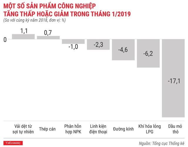 Toàn cảnh bức tranh kinh tế Việt Nam tháng 1/2019 qua các con số - Ảnh 7.