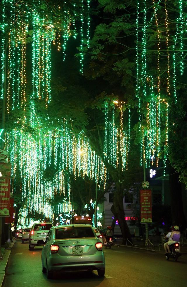 Đường phố Sài Gòn lung linh huyền ảo trong những ngày cuối năm - Ảnh 7.
