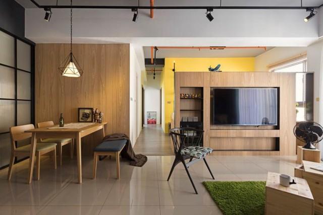 Căn hộ 100 m2 mang phong cách công nghiệp tươi sáng - Ảnh 9.
