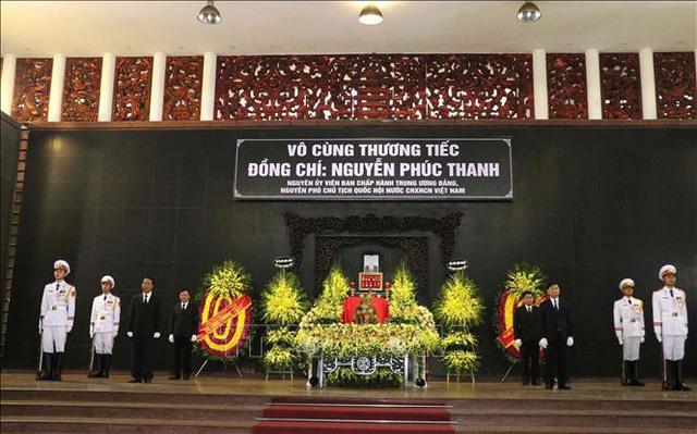 Lễ tang cấp Nhà nước nguyên Phó Chủ tịch Quốc hội Nguyễn Phúc Thanh  - Ảnh 1.