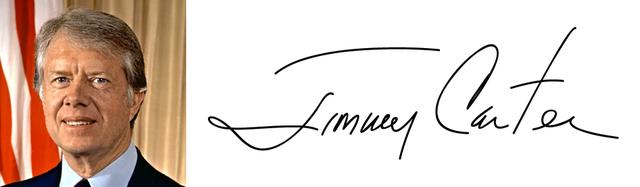 Độc đáo chữ ký của 45 tổng thống Mỹ - Ảnh 4.