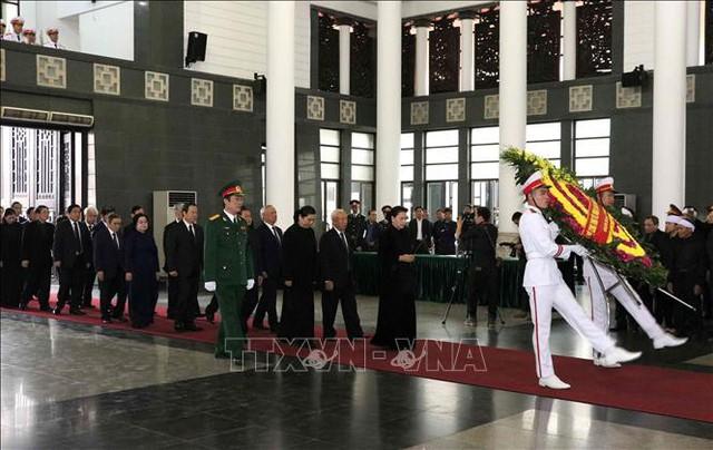 Lễ tang cấp Nhà nước nguyên Phó Chủ tịch Quốc hội Nguyễn Phúc Thanh  - Ảnh 5.
