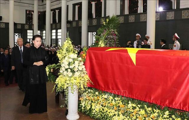 Lễ tang cấp Nhà nước nguyên Phó Chủ tịch Quốc hội Nguyễn Phúc Thanh  - Ảnh 7.