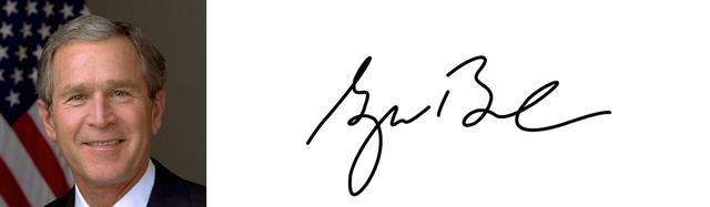 Độc đáo chữ ký của 45 tổng thống Mỹ - Ảnh 8.